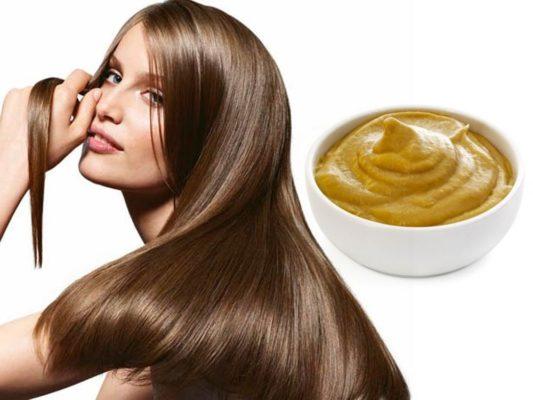 Маска для роста волос с горчицей