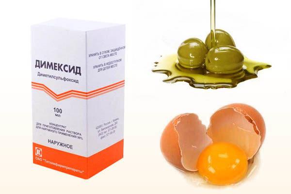 маска для волос с димексидом народные рецепты