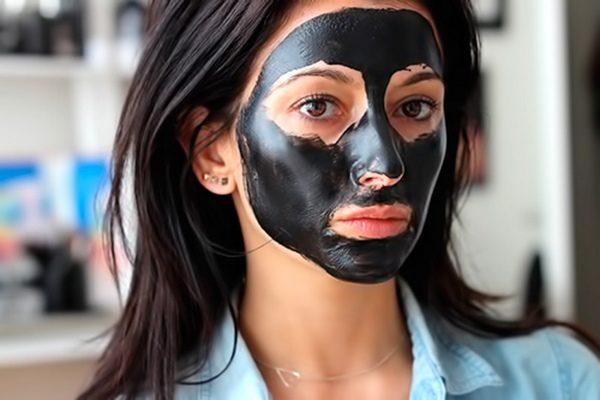 маска для лица с углем в домашних условиях