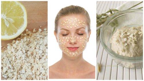 полезные маски для лица из овсянки
