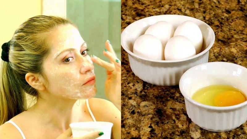 супер яичная маска для лица