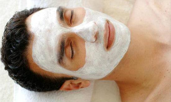 Идеальная маска для лица для мужчин
