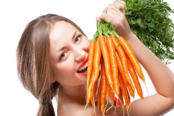 Народная морковная маска для лица