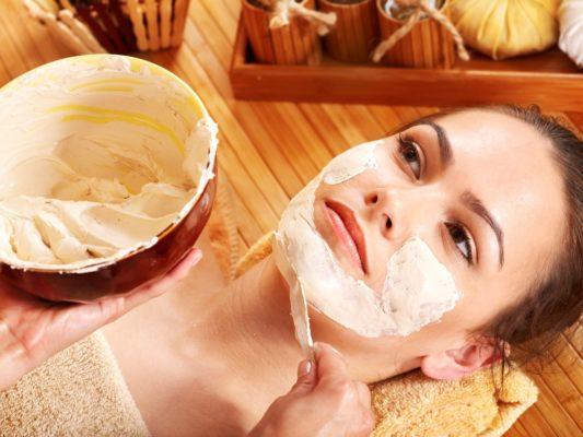 Натуральные маски для лица в бане
