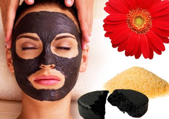 Самая эффективная маска для лица уголь желатин