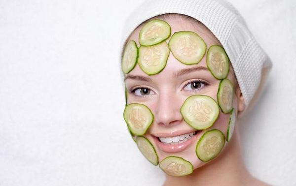 Супер маска для лица с огурцом