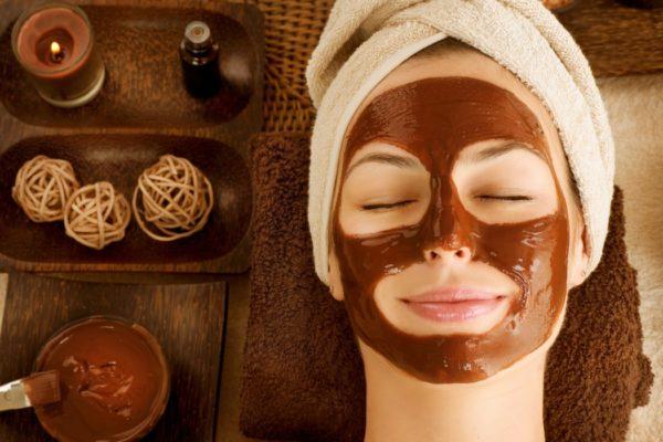 Супер шоколадная маска для лица