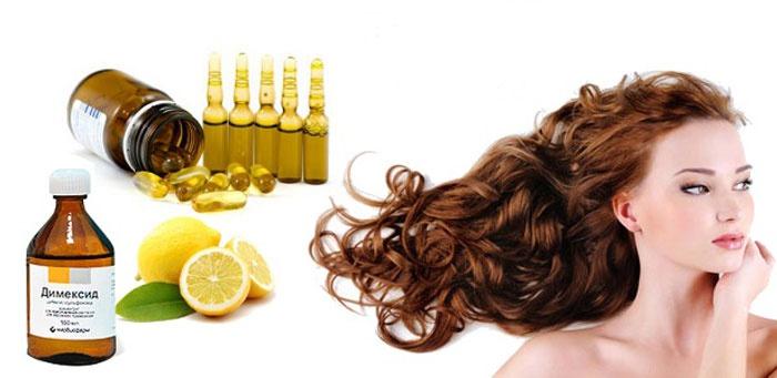 Маска для волос с витаминами в ампулах в домашних условиях